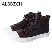Automne hiver nouveaux hommes en cuir véritable chaussures décontractées hommes qualité sport de plein air hommes chaussures bout rond dentelle plat loisirs chaussures botas