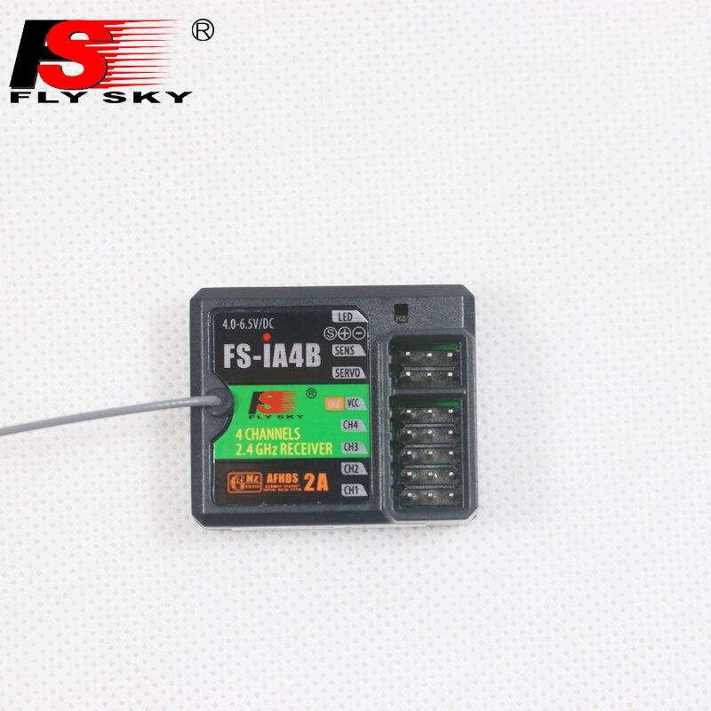 Receptor Flysky FS-IA4B IA4B 2,4G 4CH, salida PPM para sistema RC, receptor de barco para coche Flysky FS i4 i6 i10 iT4S transmisor