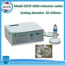 Бесплатная доставка + Электромагнитная алюминиевая фольга Индукционная уплотнительная машина/машина для запечатывания крышек Индукционная упаковочная машина