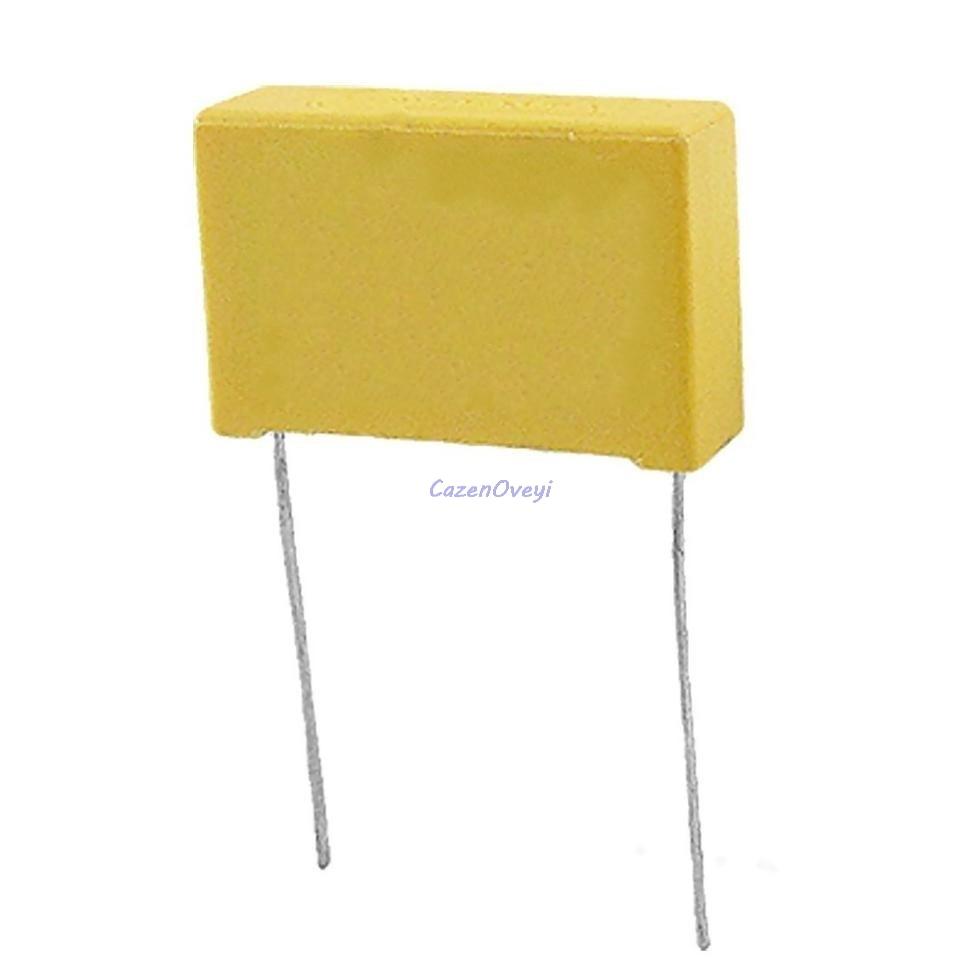 20 pçs/lote 0.01uF capacitor X2 10NF 10 275VAC Pitch mm X2 capacitor de filme de Polipropileno capacitor