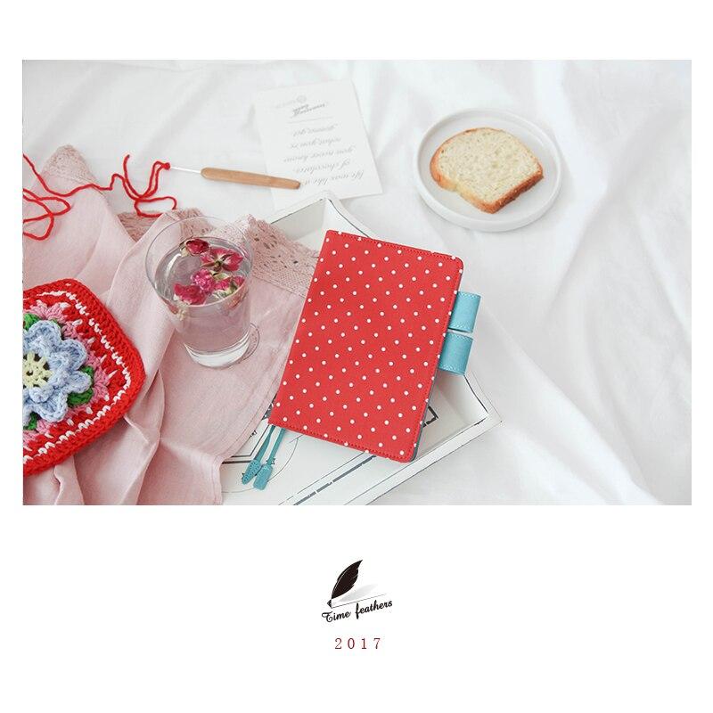 2018 nuevo A6 a5 cuaderno de artículos de papelería, diario billbook bolso de Midori estilo melo melón