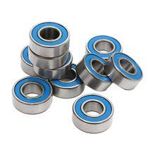 Хорошее deal-10Pcs MR115 2RS шарикоподшипники 5x11x4 мм для Traxxas Slash Rustler Stampede Wheel