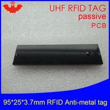 UHF RFID anti-metal tag 915mhz 868mhz Alien Higgs3 EPCC1G2 6C 95*25*3.7mm long reading distance PCB smart card passive RFID tags