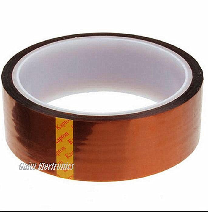 درجة حرارة عالية مقاومة للحرارة لاصق الشريط 33mt * 30 مللي متر PCB SMT لحام التدريع 5 قطعة