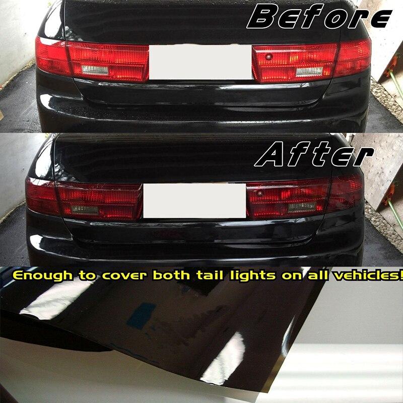 Lámpara automática de coche película de vinilo luz trasera tinte cubierta protectora accesorios envolventes