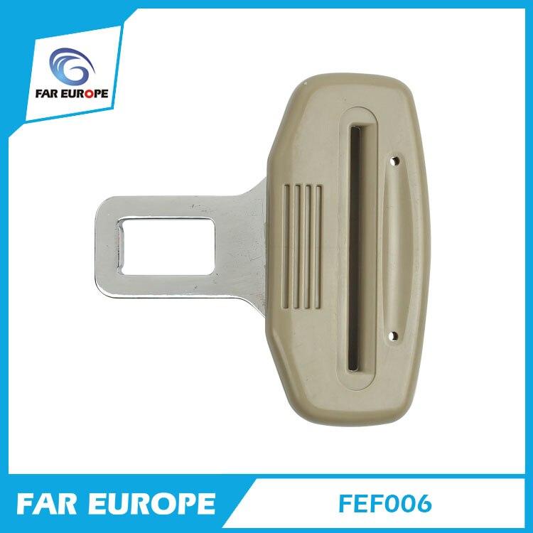 3 puntos cinturón de seguridad lengüeta cinturón de seguridad inserte Color negro Beige FEF006
