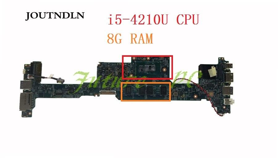 Placa base para ordenador portátil Acer Aspire S7 S7-392 48.4LZ02. 011 NBMBK11008 W/i5-4210U CPU 8GB memoria HD 4400 trabajo de prueba