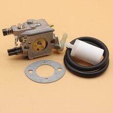 Carburateur et filtre de ligne de carburant pour Husqvarna 50 51 55 carburateur de tronçonneuse 503281504 # Walbro WT-170-1 Carby