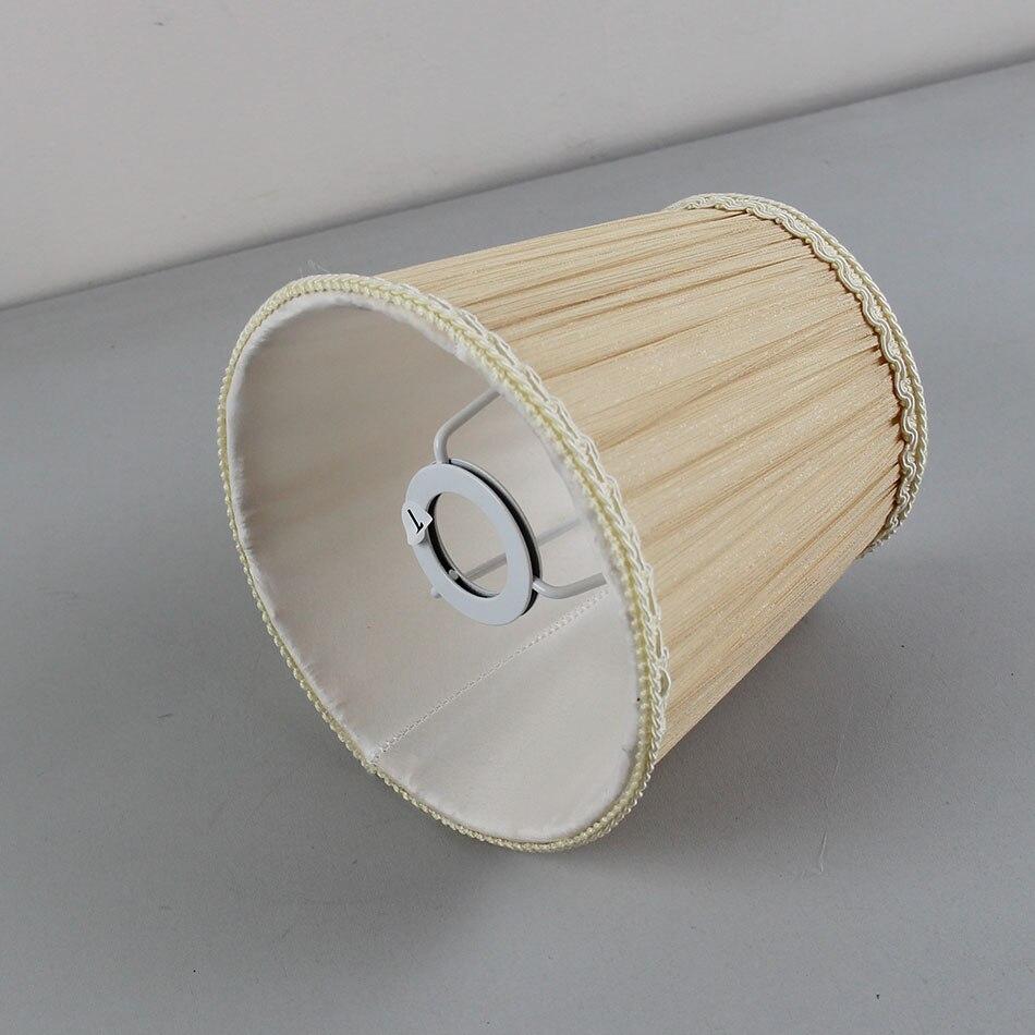 Pantallas de pared de gasa de 15,5 cm/6,1 pulgadas de diámetro, pantallas de lámpara colgante de encaje, E14