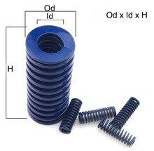 Od 8mm Id 4mm luz Duty azul espiral estampado compresión muelle de troquel