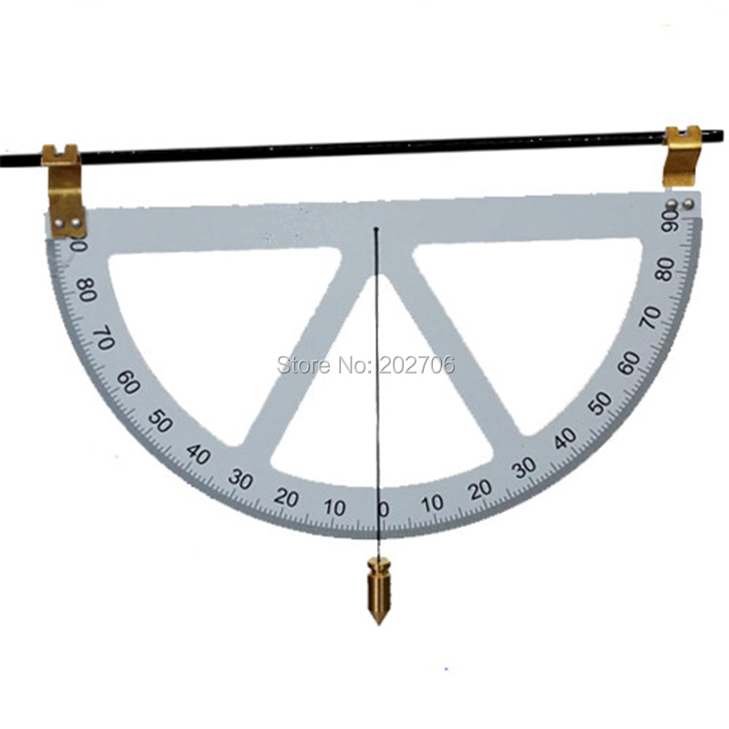 Gradiômetro clinometer ângulo régua triângulo ajustável ângulo inclinação medidor de nível finder ferramenta