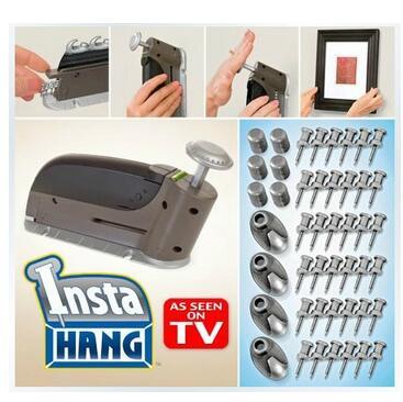 Smartlife Insta colgar clavos prácticos sin juntas para pared imagen de uñas gancho de pared pistola de clavos colgante como se ve en la TV de alta calidad