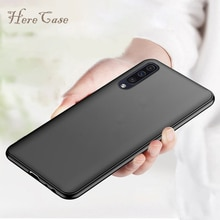 A50 étui mat pour Samsung Galaxy A50 A70 étui souple en Silicone coque pare-chocs Ultra mince couverture arrière pour Samsung Galaxy A30 couverture