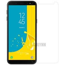2 шт. 9H закаленное стекло для Samsung Galaxy J6 (2018) J600 SM-J600F J600G J600FN Защитная пленка для экрана