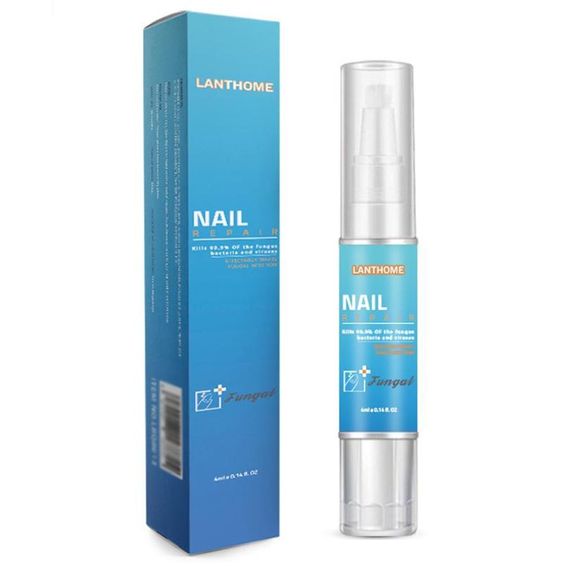 Nail Repair Treatment from Fungus Remover Protective 4ML Nail Pen Brush Nail Nourishing Brightening Hand Foot Care Tools
