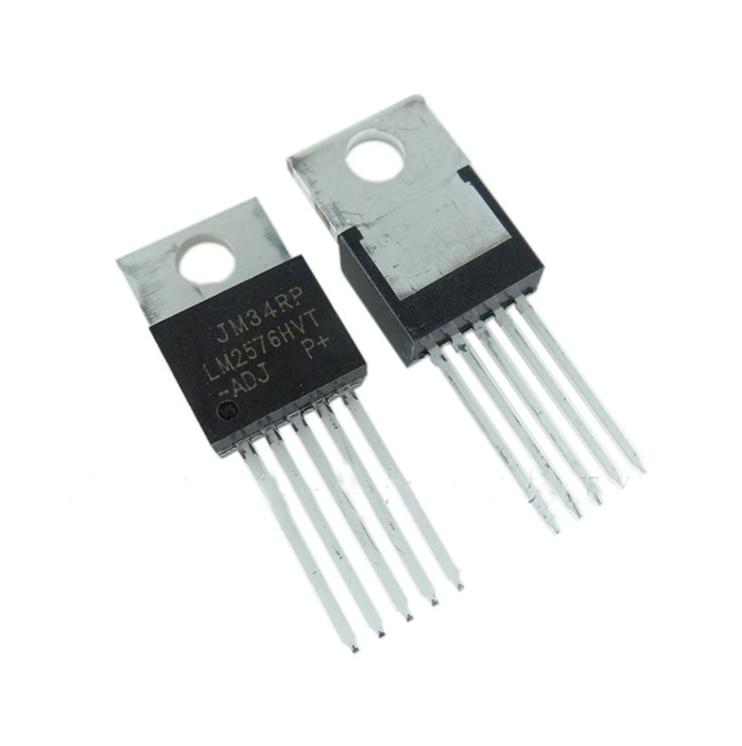 5 Pcs LM2576HVT-ADJ TO220-5 LM2576 LM2576HV-ADJ LM2576-ADJ TO220 Nieuwe Regulators
