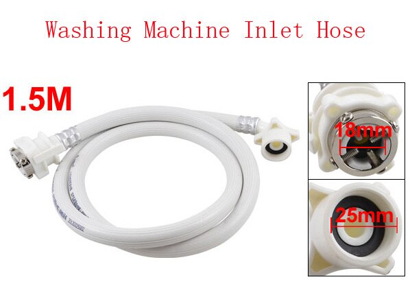 Стиральная машина для стирки стиральной машины белая вода впускной шланг трубы 1
