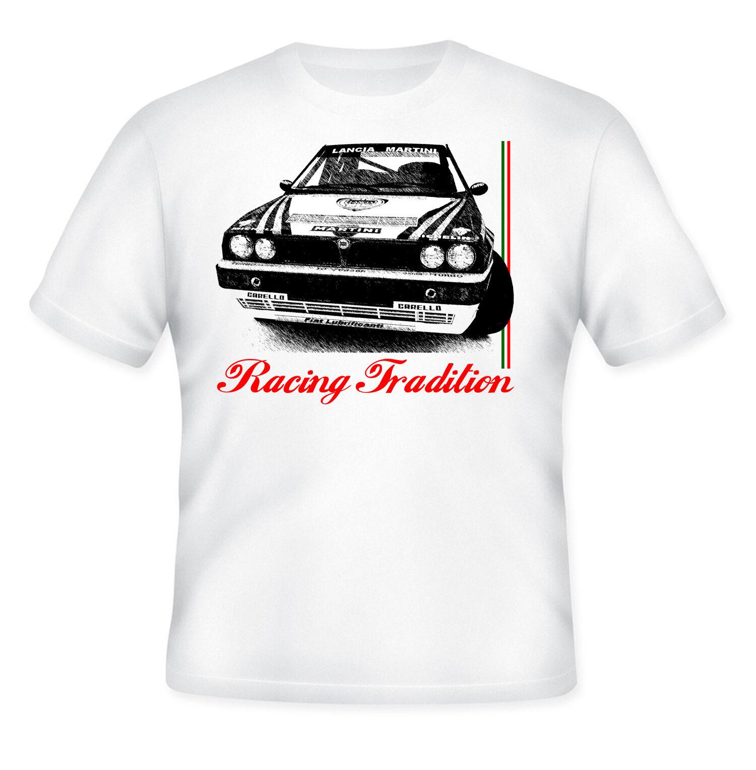 2019 Cool Lancia Delta Hf Integrale inspirado 11-Nueva camiseta gráfica s-m-l-xl-Xxl camiseta Unisex