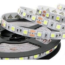 LED Strip 5050 DC12V 60 LEDs/m 5 m/partij Flexibele LED Licht RGB RGBW 5050 LED Strip