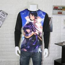 Cosplay de anime de Japón Manga log Horizon Akatsuki imprimir camisetas shioe Manga larga Tops Minori Unisex primavera otoño camisetas
