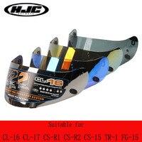 HJC motorcycle helmet lens suitable for CL-16 CL-17 CL-ST CL-SP CS-R1 CS-R2 CS-15 TR-1 FG-15 HS-11 FS-15 FS-11 helmet visor