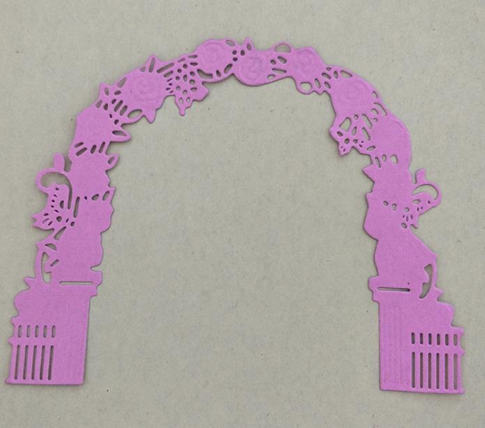 flower and arched door Metal Cutting Dies Carbon steel Die Stencil for DIY Decorative Scrapbooking Embossing Album Card