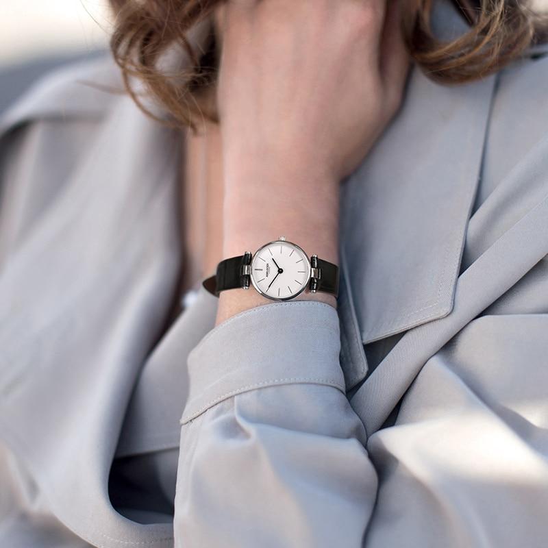 AGELOCER Brand Luxury Ladies Watch Fashion Leather Wrist Quartz Girl Watch for Women Dress Watches Clock Relogio Feminino enlarge