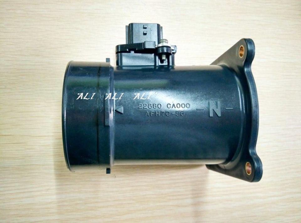 MAF sensor de flujo de air masivo 22680 CA000 para Teana J31... X-TRAIL T30... Sentra limpiador de aire 22680CA000 22680-7S000 226807S000