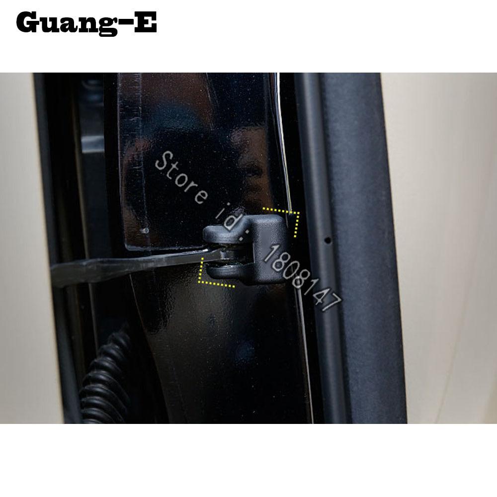 For Toyota Highlander 2018 2019 2020 Car Anti Rust Water Proof Door Lock Key Keys Plastic Buckle Limit Device Trim Parts