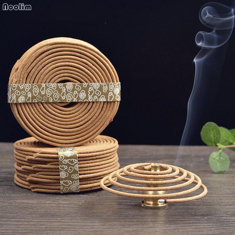 48 bobinas natural sândalo incenso casa aromaterapia fabricante especiaria anti-séptico refrescante casa fragrância bobina incenso