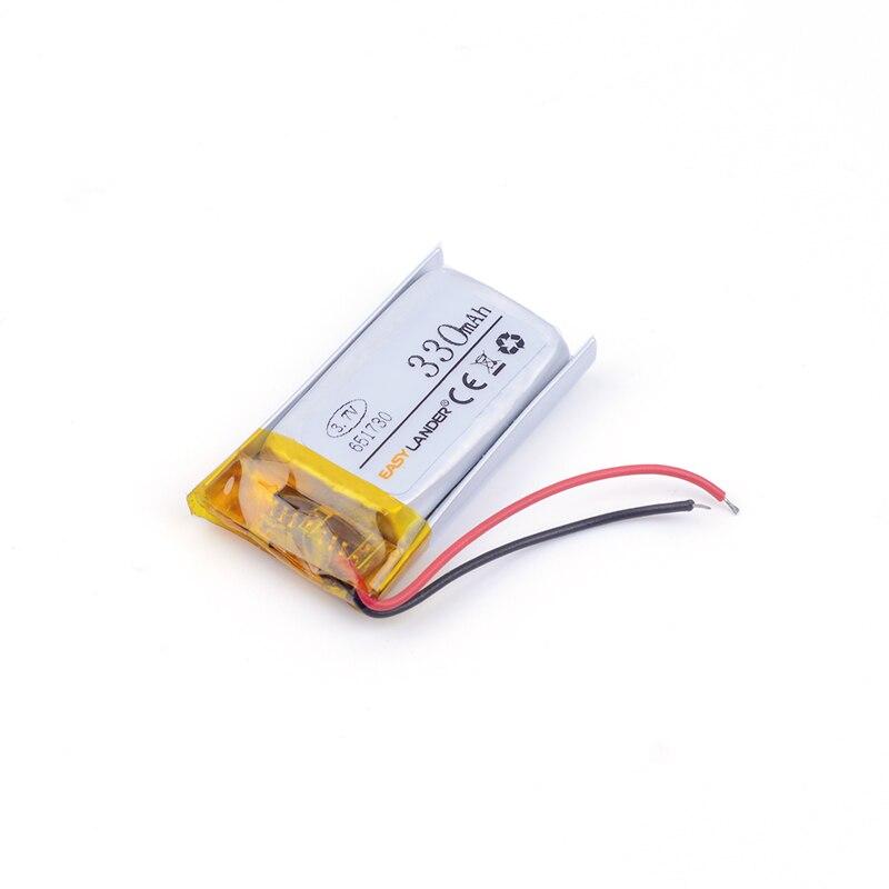 3,7 V 330 mAH 651730 Lipo батарея для Syma S107G S109G S111G MJXRC X900 X901 вертолет с дистанционным управлением