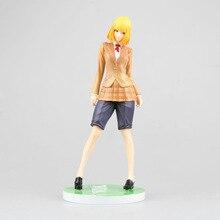 21.5cm midorikawa hana Action figure WING Gevangenis School PVC president van Student Union doll Anime Movie Model Beweegbare Cosplay