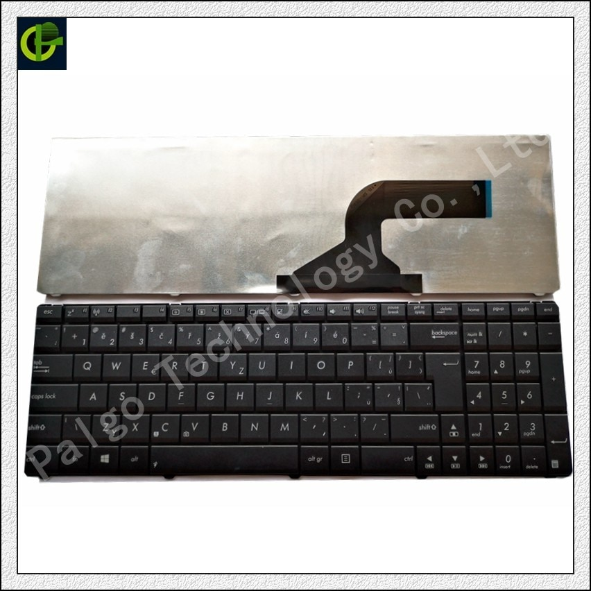 التشيكية لوحة المفاتيح ل Asus K73SJ K73SM K73SV R704 R704A R704VB R704VC R704VD A53SK A54LY تشيكوسلوفاكيا صالح سلوفاكيا SK محمول