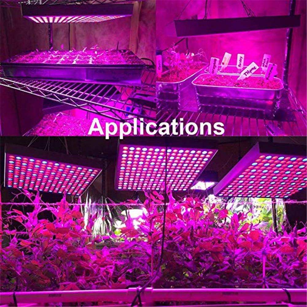 2019 nuevo superventas lámpara LED de crecimiento de plantas de 45W rojo y azul para tiendas de campaña/invernadero interior/lámpara de vivero