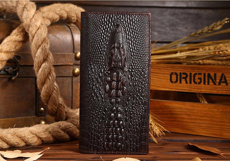 Мужской кошелек из натуральной воловьей кожи, кошелек с отделением для карт