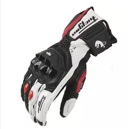 شحن مجاني مبيعات ساخنة نماذج رائعة Furygan ANTS AFS18 قفازات سباق الدراجات النارية قفازات جلدية أصلية