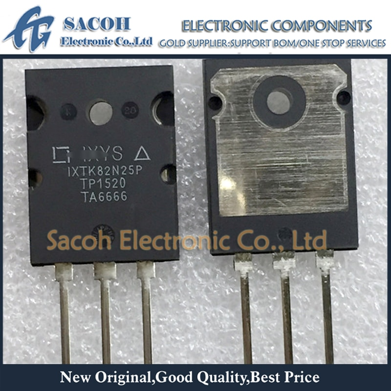 Free Shipping 5Pcs IXTK82N25P IXTK80N25 IXFK80N20Q IXFK80N15Q TO-264 82A 250V PolarHT Power MOSFET