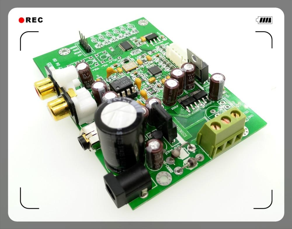 ES9028Q2M I2S Entrada digital audio DAC decodificador de actualización de 9018 CSR8675 módulo Bluetooth