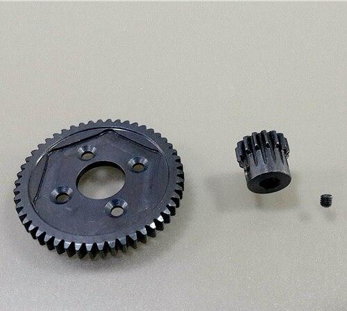 Piezas de repuesto para coche de carreras, de aleación de Metal 50T #45, 15T Gear FS RC, accesorios 536059