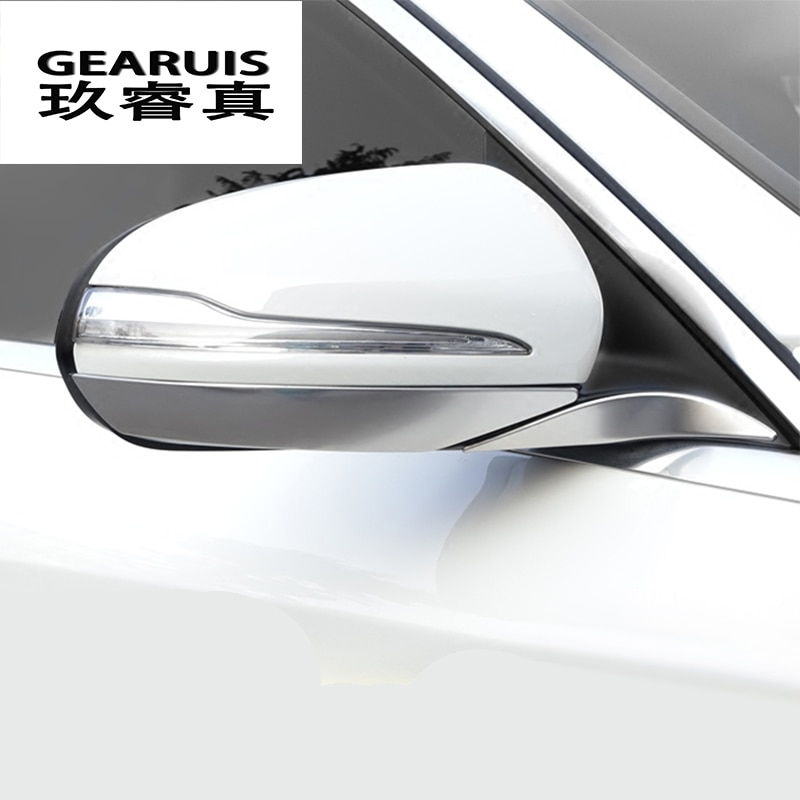 غطاء مرآة لمرسيدس بنز C-class W205 C180 C200 ، غطاء مرآة الباب ، ملحقات السيارة