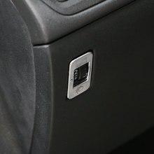 Jameo Auto ABS chromé bouton de réglage   Autocollant de garniture de couvercle à paillettes pour Peugeot 2008 3008 208 2014-2017, accessoires