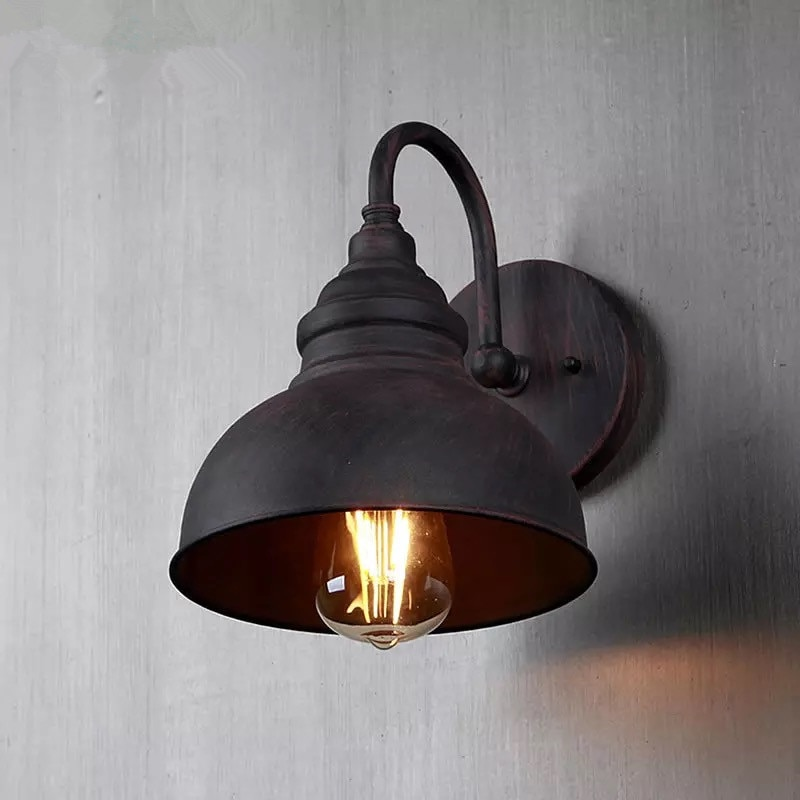 Hawboirry contemporânea led europeu tradicional lâmpada de parede ao ar livre residencial villa corredor retro luz
