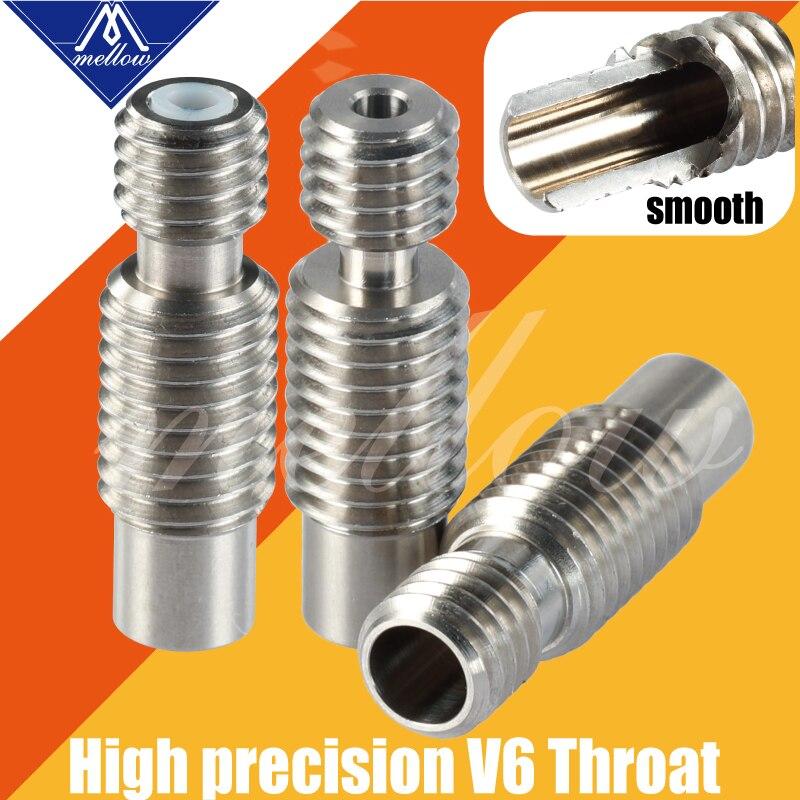Suave 1 Uds súper lisas calor descanso para E3d V6 salida Hotend Vocano calentador de bloque de filamento de 1,75mm 3d impresora garganta boquilla Accesorios