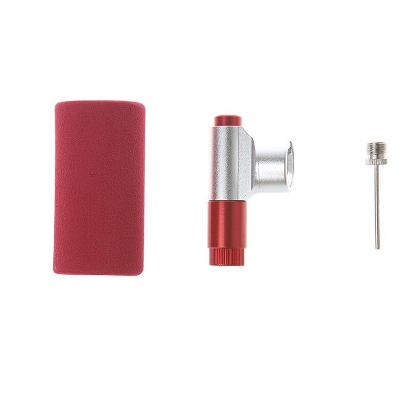 Mini bicicleta Co2 mano Mini bola neumático bomba portátil accesorios para inflar la bomba