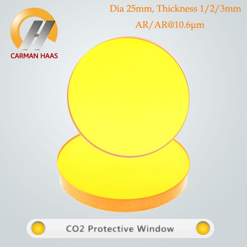 Carmanhaas CO2 ZnSe лазерная защита окон защитное стекло диаметр объектива 25 мм|Линзы| |