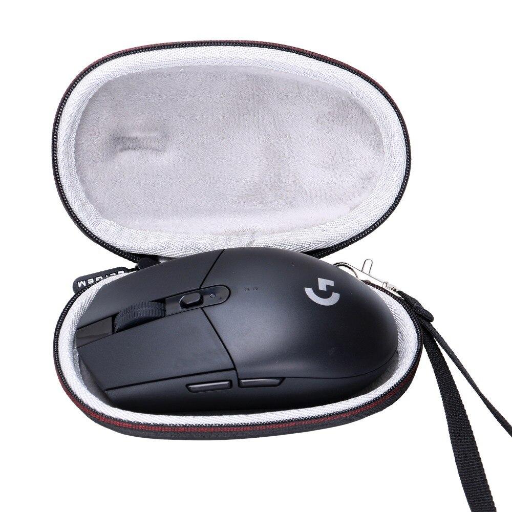 Жесткий Дорожный Чехол LTGEM EVA для беспроводной игровой мыши Logitech G305 Lightspeed