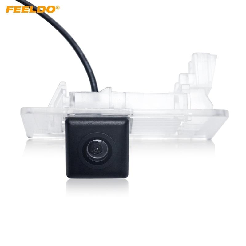 FEELDO 1 Juego de cámara de visión trasera especial para Volkswagen Touareg/PASSAT/Jetta/Sagitar/Golf/ excelente/Yeti cámara de respaldo # AM4541