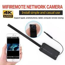 Mini Wifi Taste Kamera Fernbedienung 4K Volle HD DIY IP Kamera Flexible Micro Cam Mini DV Camcorder