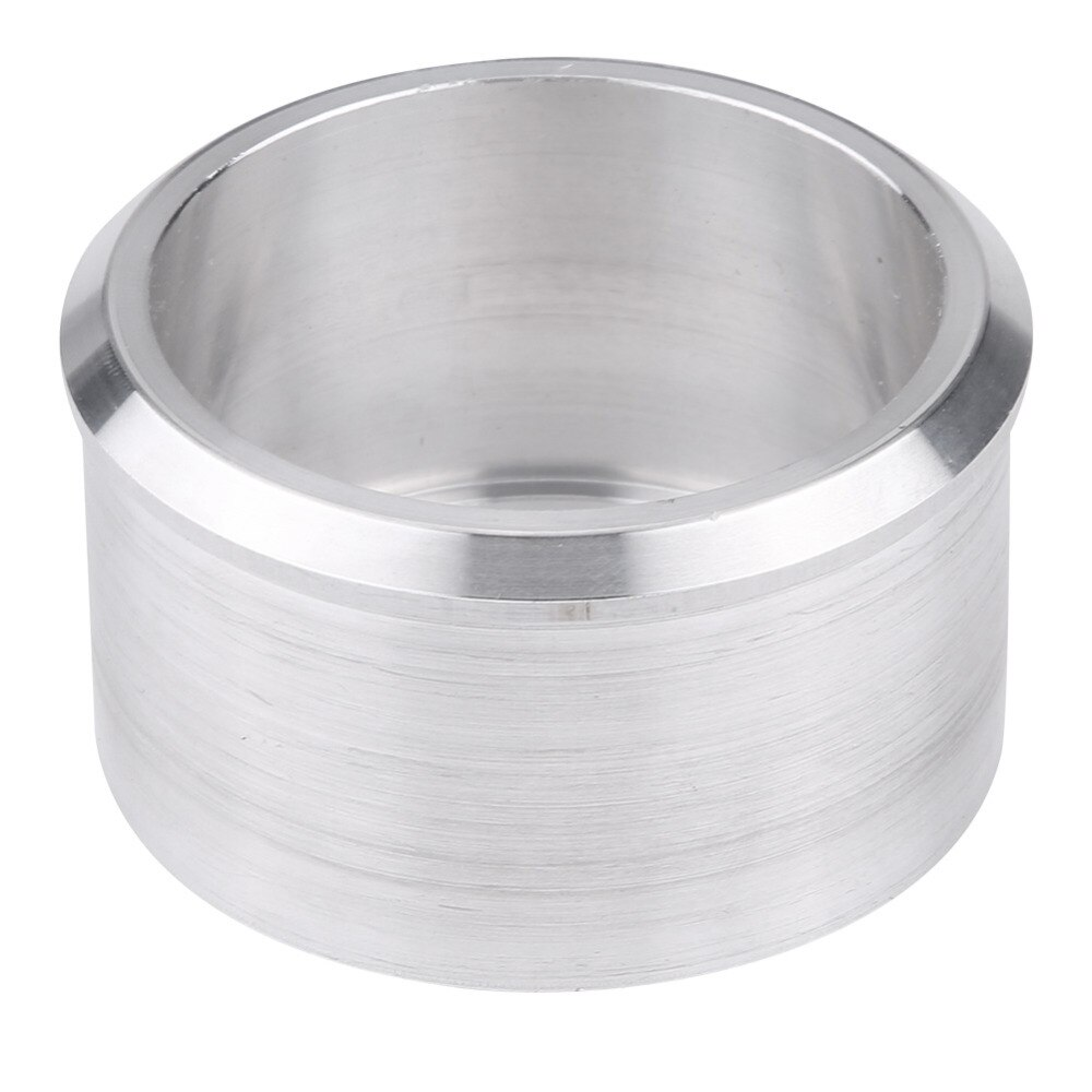 60mm a 51mm Conector Adaptador Redutor Silenciador tubo de Escape Da Motocicleta de Motocross de Alta qualidade acabamento polido espelho de alumínio