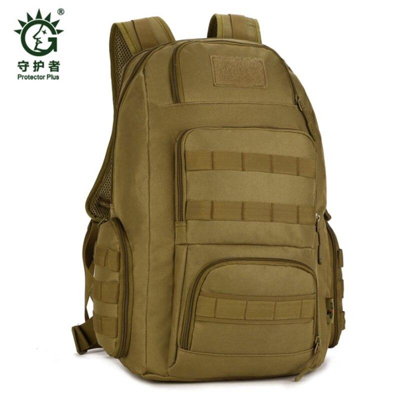 Для мужчин военный рюкзак Водонепроницаемый нейлоновая сумка рюкзаки Multi-function14-inch компьютер Для мужчин Лучший путешествия рюкзак для отдых...